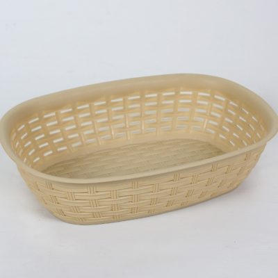 Koszyk na chleb rattan beż